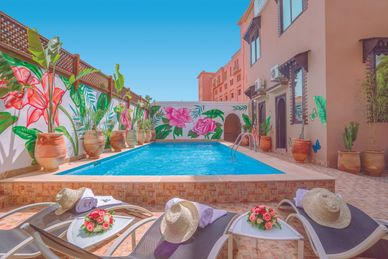 Majorelle City Center Riad & Spa Maroc