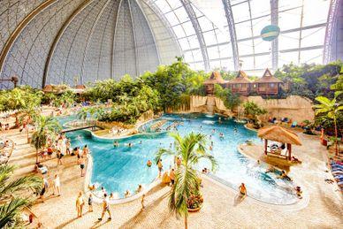 Plaisir des bains tropicaux